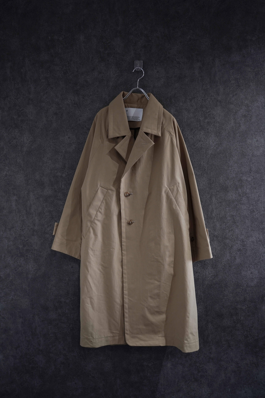 VOAAOV SUSTAINABLE NYLON COAT beige