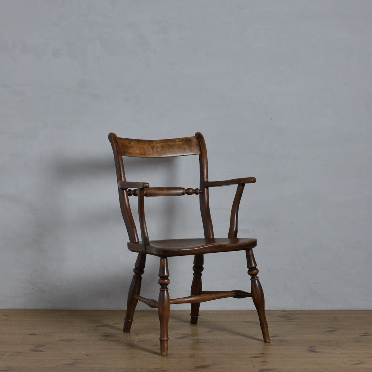 Scrollback Arm Chair / スクロール バック アーム チェア〈ダイニング チェア・椅子・キッチンチェア〉 112151