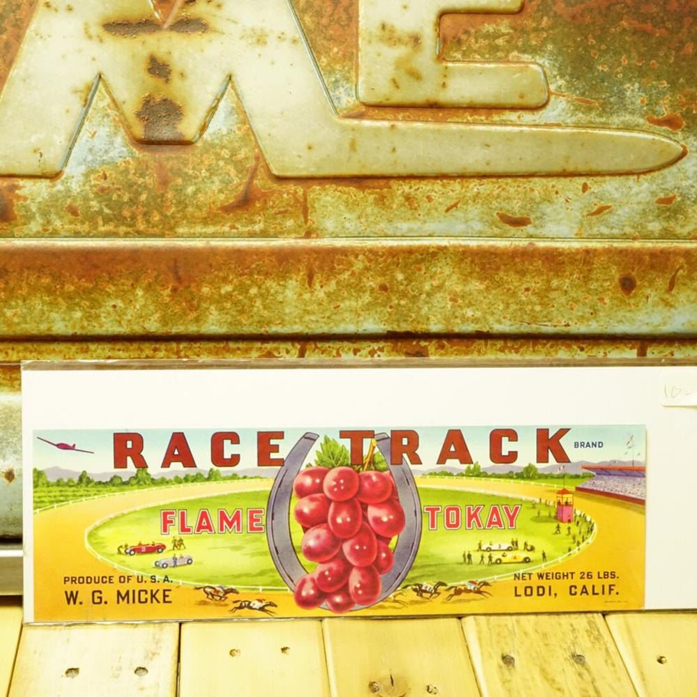 ヴィンテージ カリフォルニアフルーツ 木箱ラベル No.021