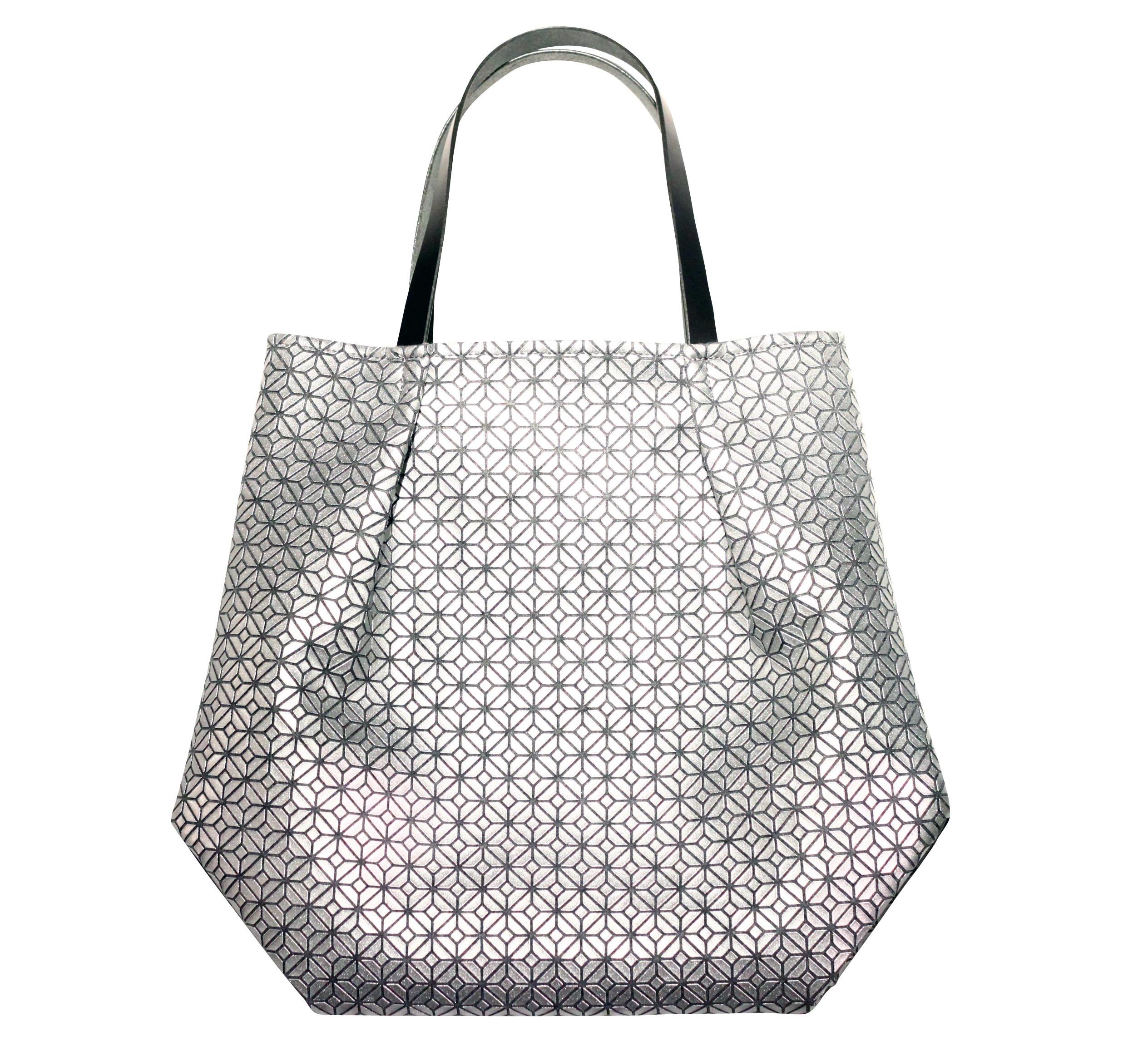 COMMON tote Bag / SILVER GRAY