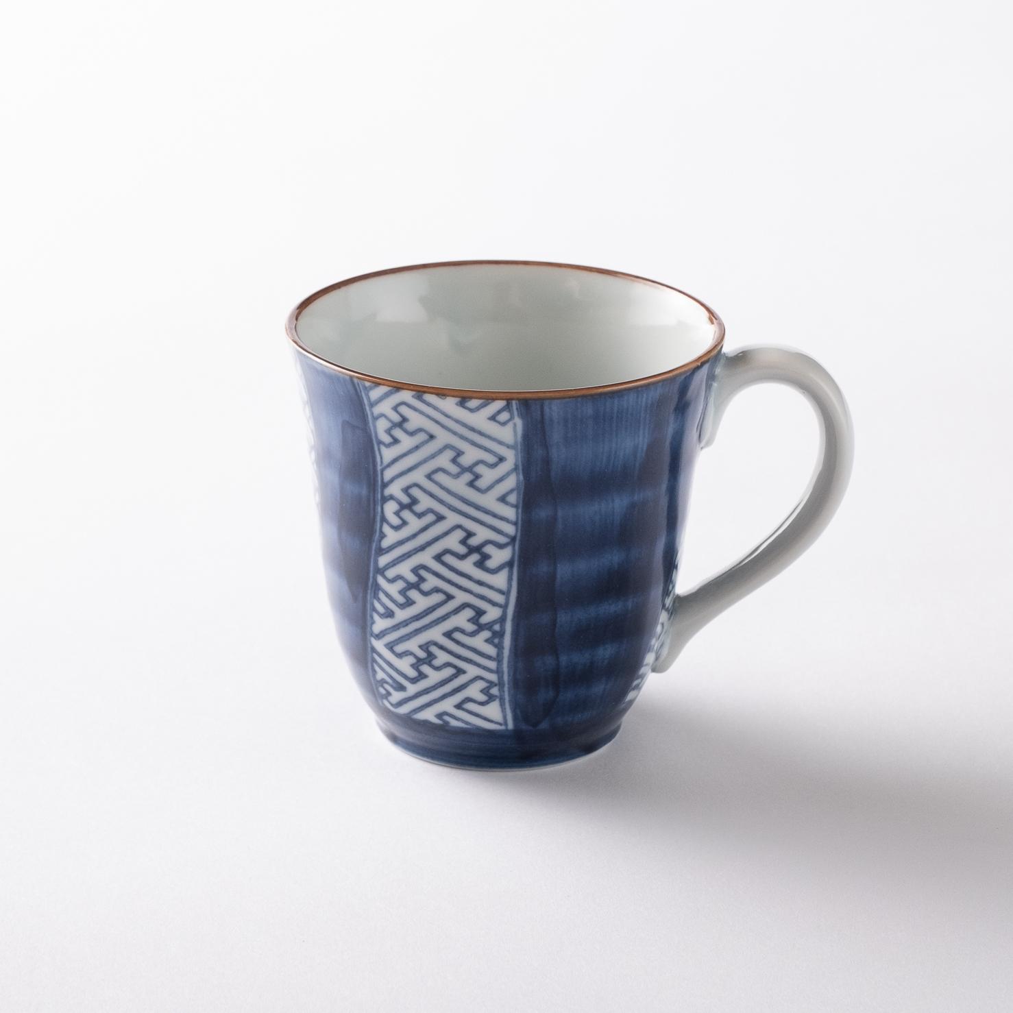 【美濃焼】マグカップ「染絵 呉須祥瑞 マグカップ」