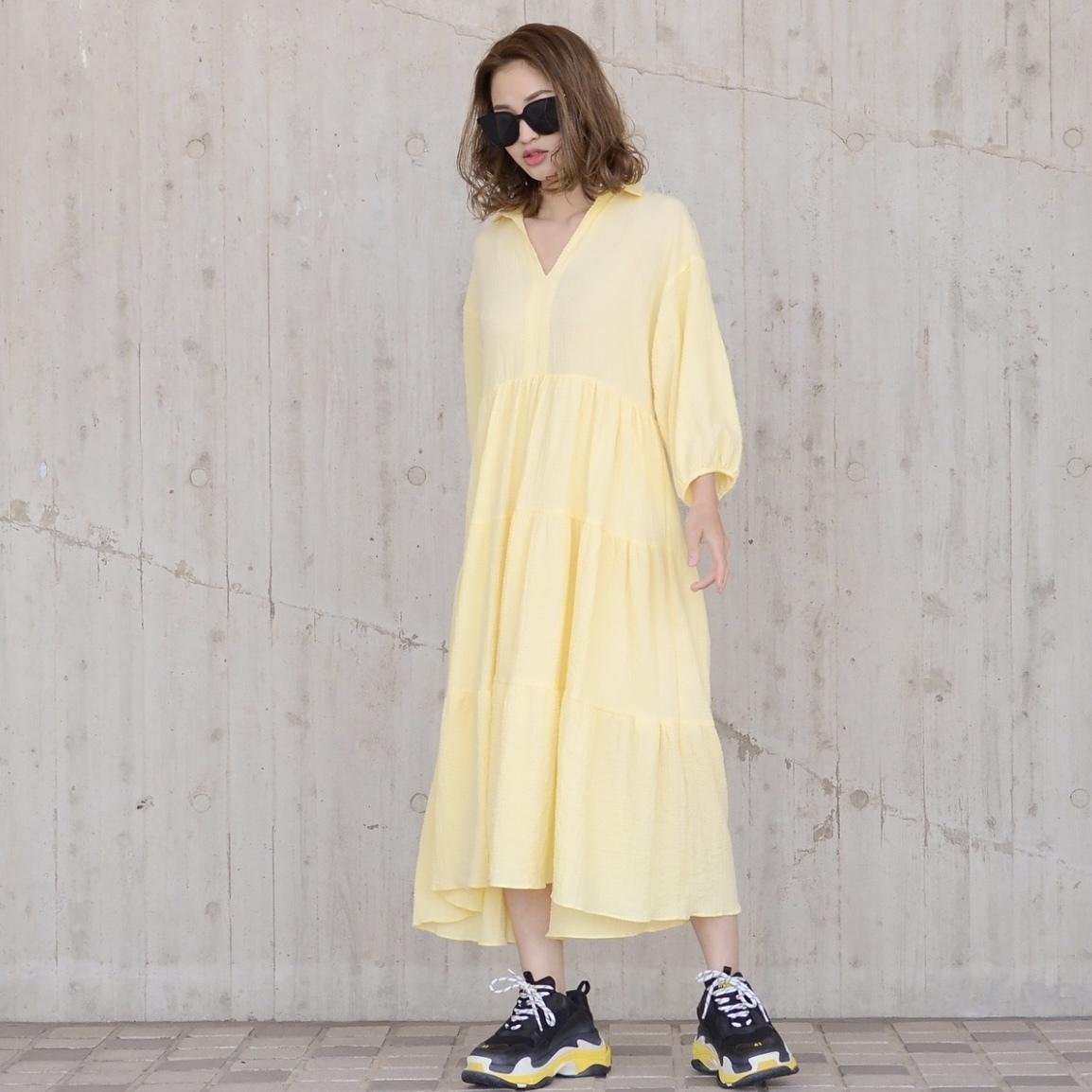 スキッパーサマードレス/YE