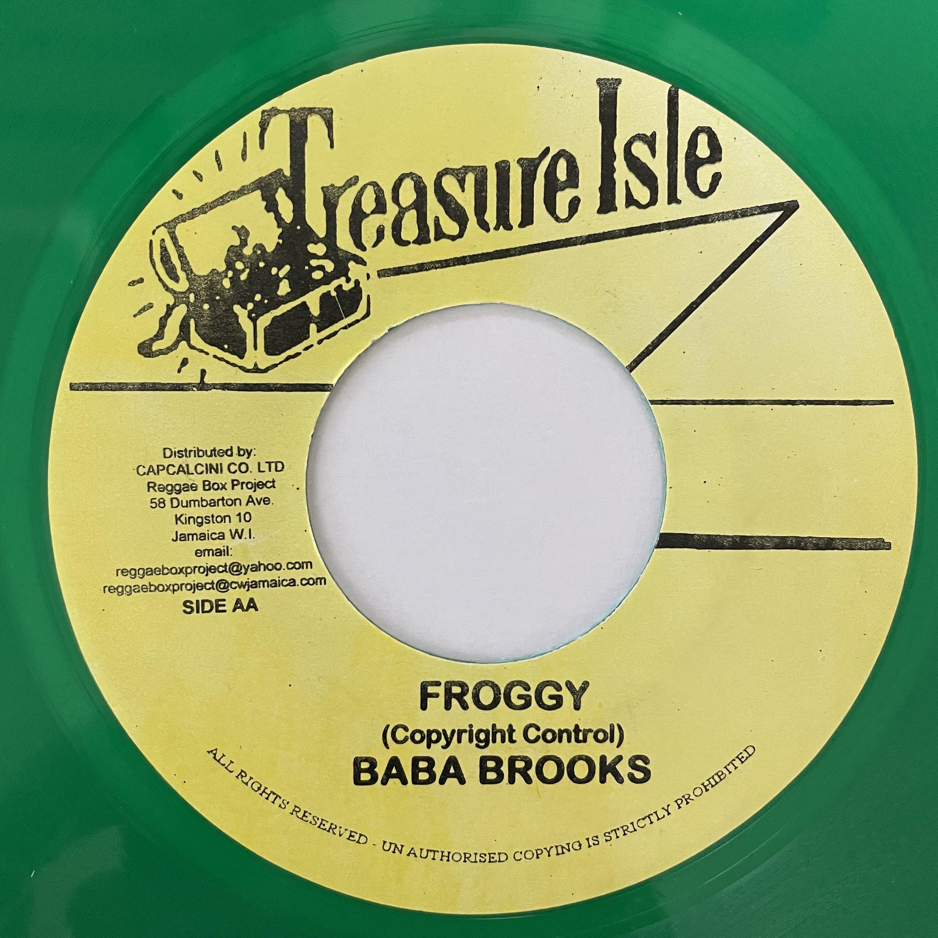 Baba Brooks - Froggy【7-20750】