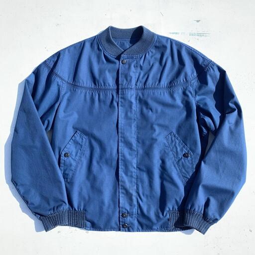 60's derby of San Francisco ダービージャケット オリジナル ブルー 初期タグ 裏地チェック レア M~L位 希少 ヴィンテージ