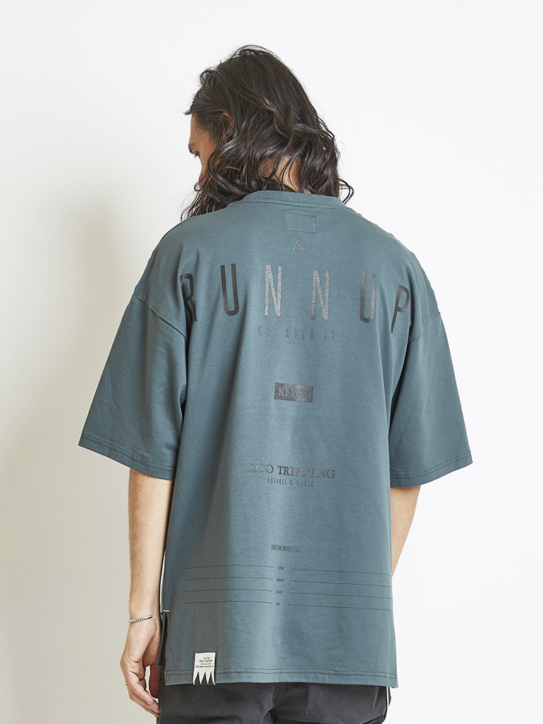 EGO TRIPPING (エゴトリッピング) RUNNUP TEE / MINT 663856-68