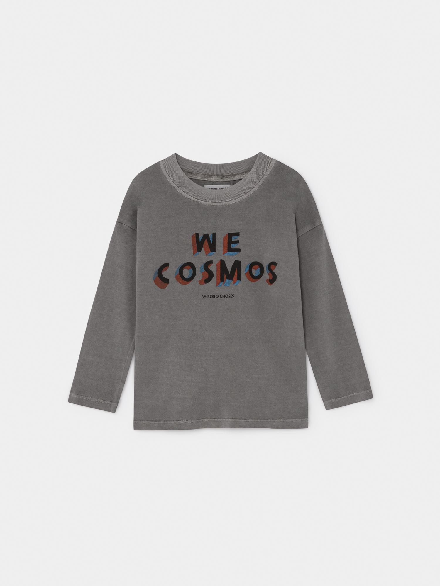 《BOBO CHOSES 2019AW》We Cosmos long sleeve T-shirt / 2-9Y