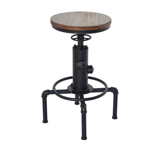 Smoky Bar Chair BLK  / ヴィンテージスタイル スモーキー バーチェア / ブラック