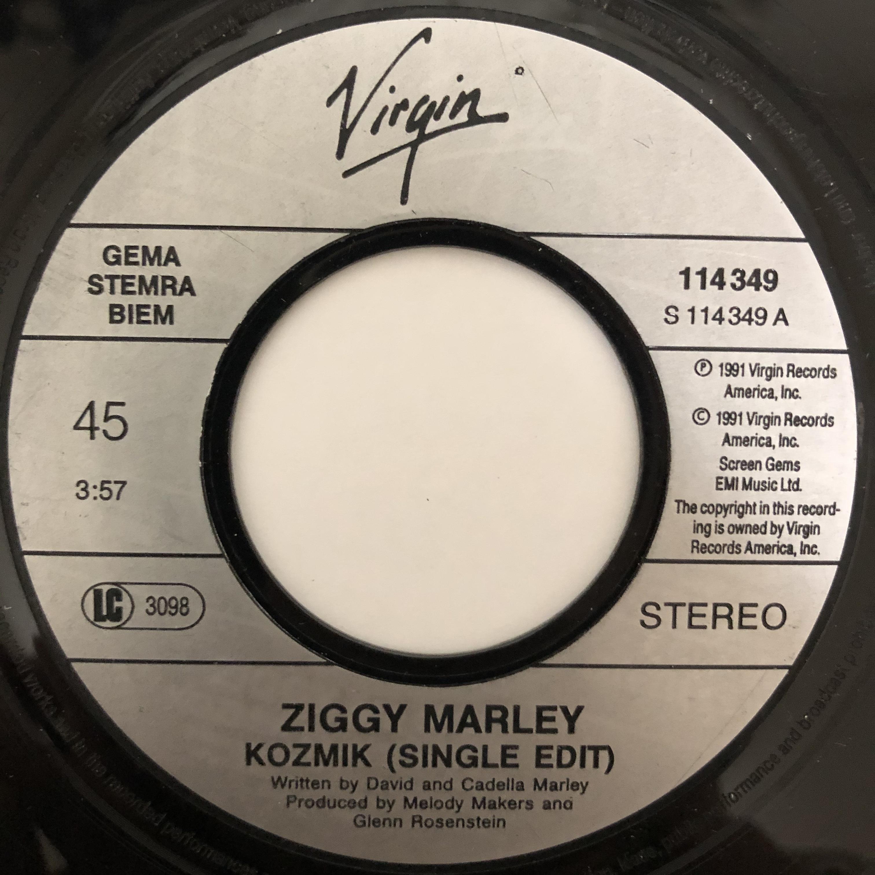 Ziggy Marley - Kozmik【7-20414】
