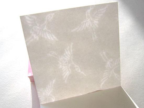 桜鶴(おうかく)メモパッド