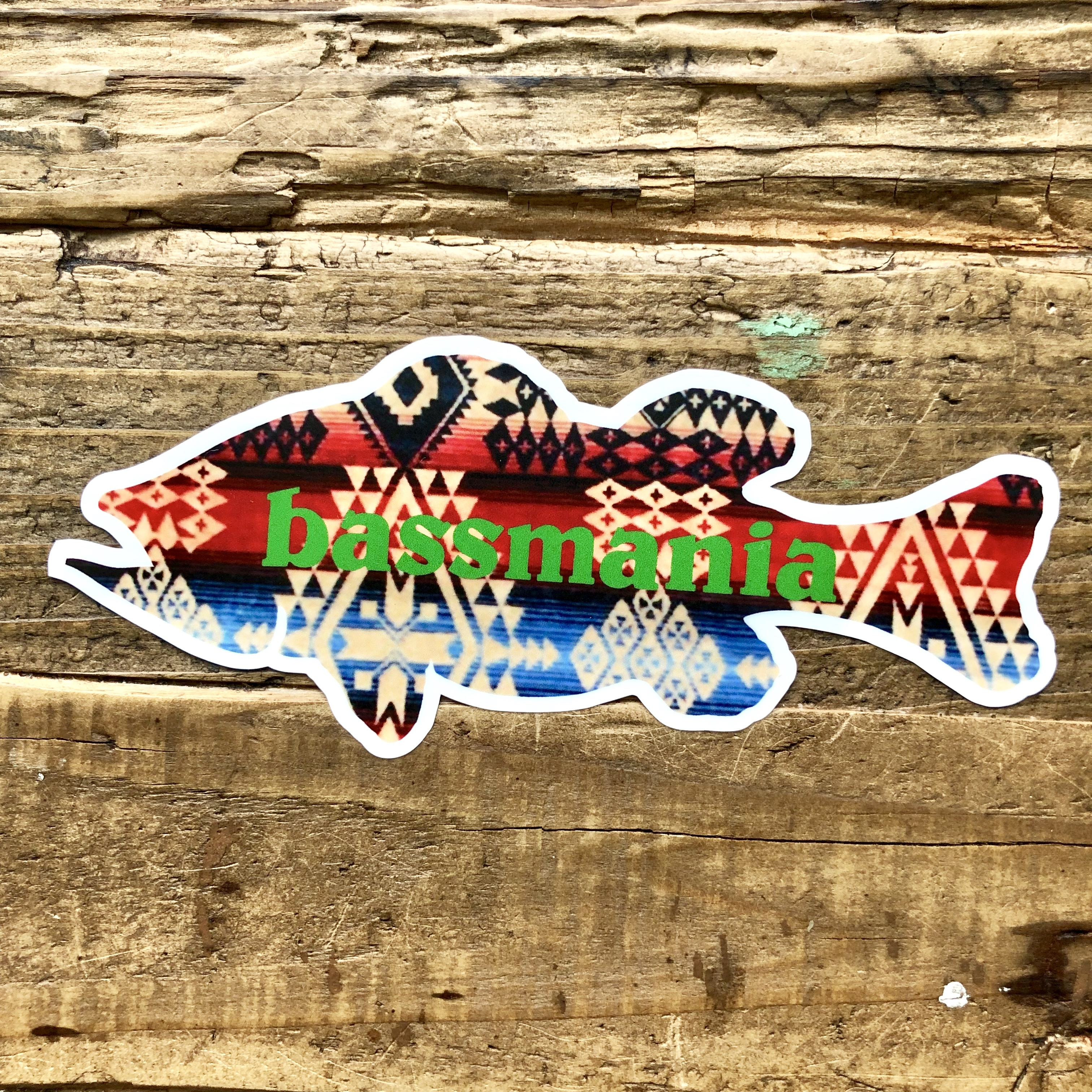 NATIVE BASS sticker