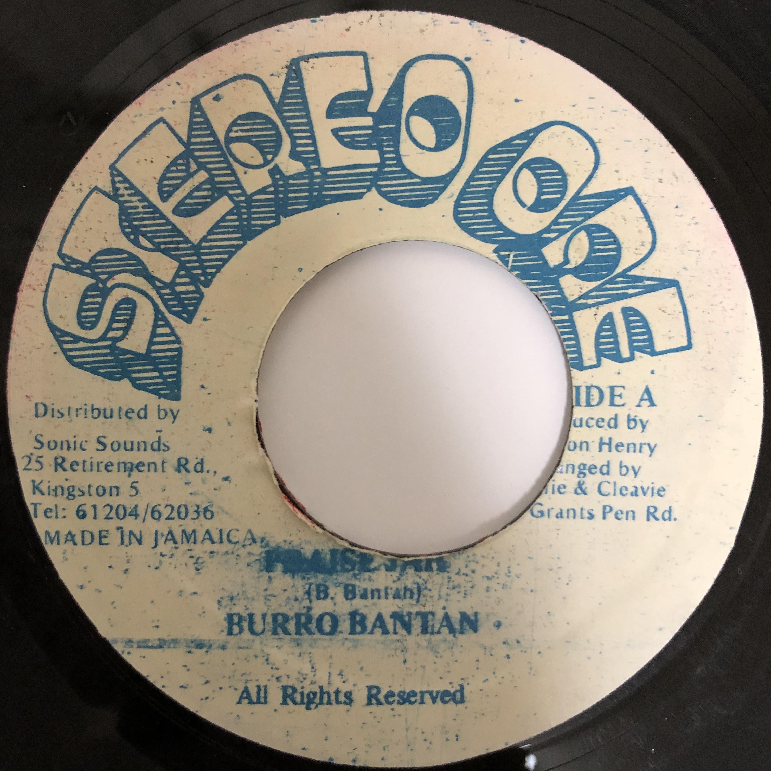 Burro Banton - Praise Jah【7-20401】