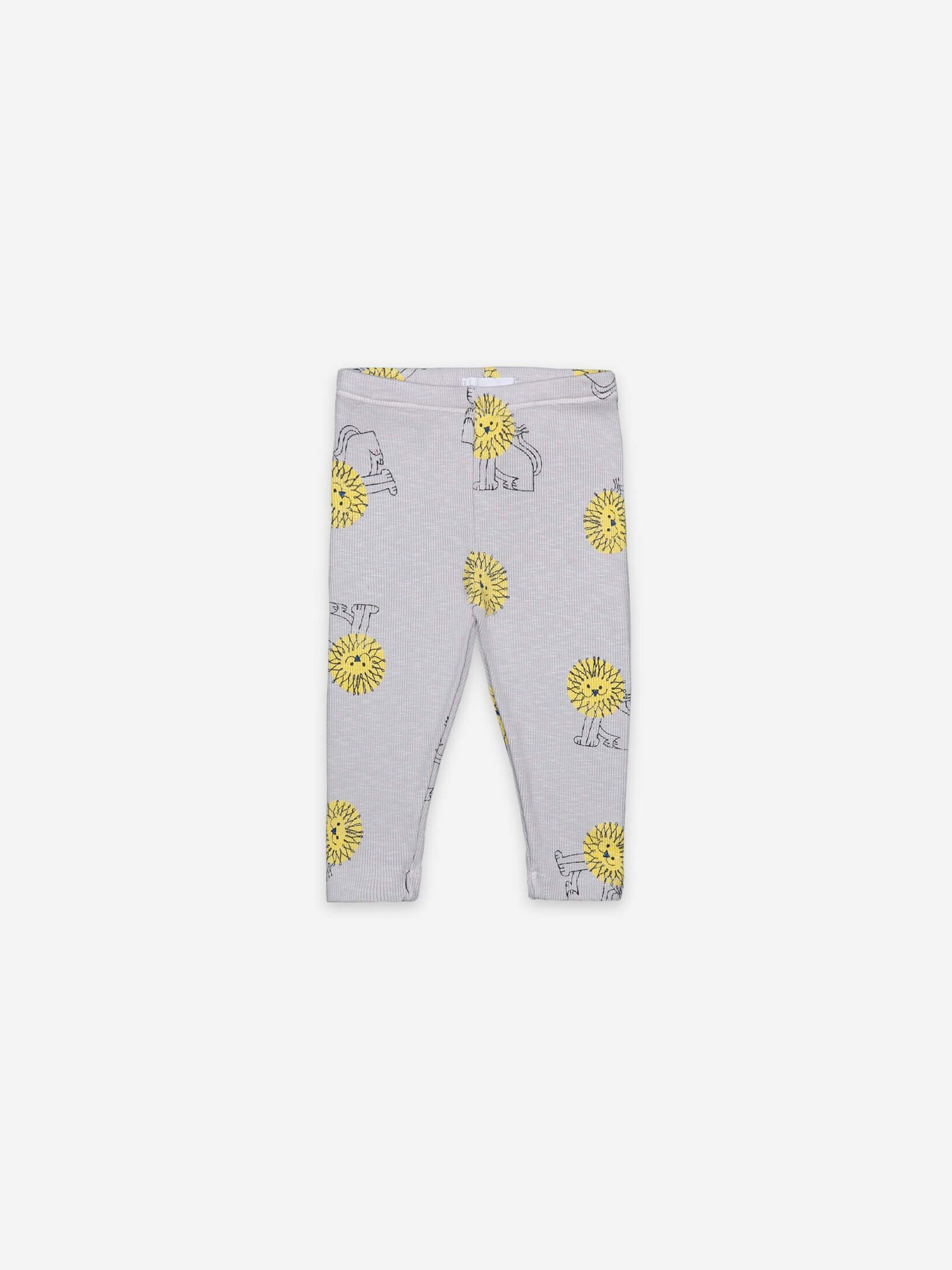 BOBO CHOSES ボボショセス Pet A Lion All Over Leggings size:18-24M(90-95)