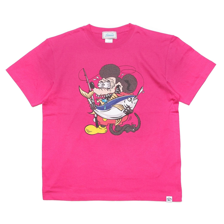 【Seamania】Crazy TUNA Tシャツ [S.PNK]