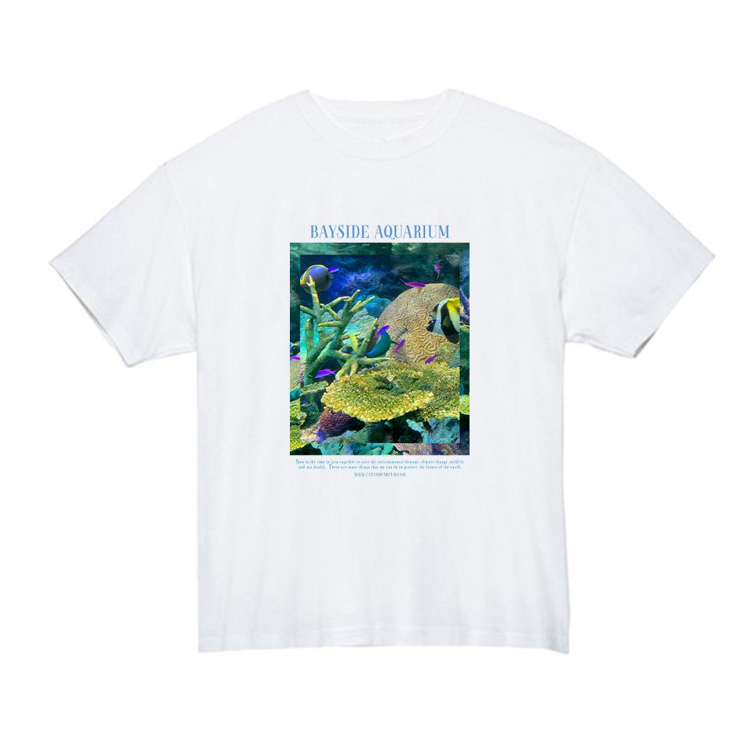 【Cat & Parfum】Bayside Aquarium Souvenir Tee