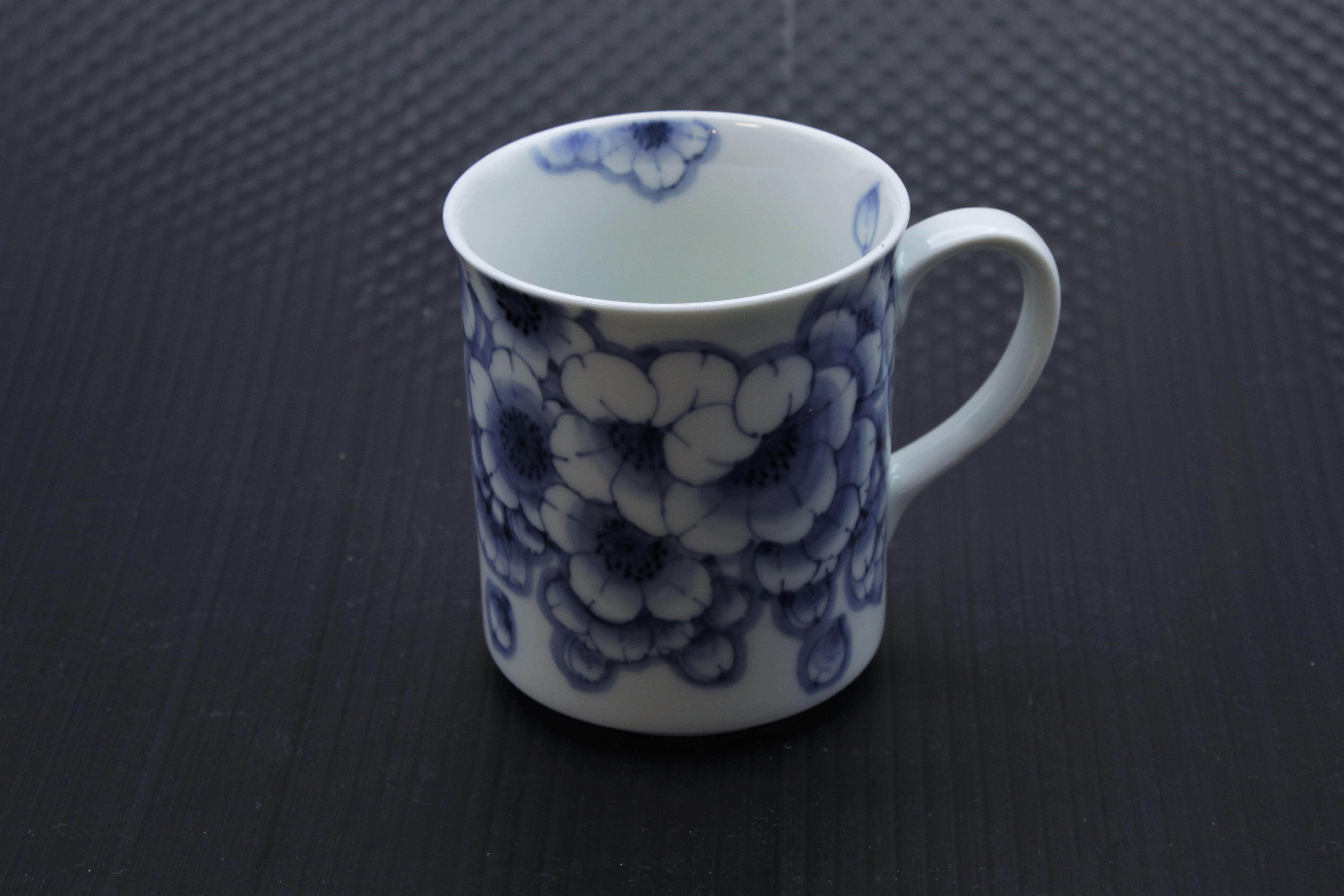 王冠桜マグカップ