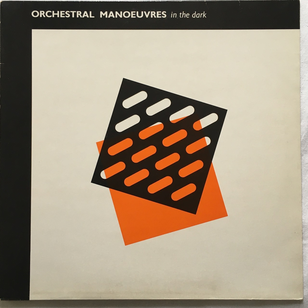 【LP・英盤】 Orchestral Manoeuvres In The Dark  /  Orchestral Manoeuvres In The Dark