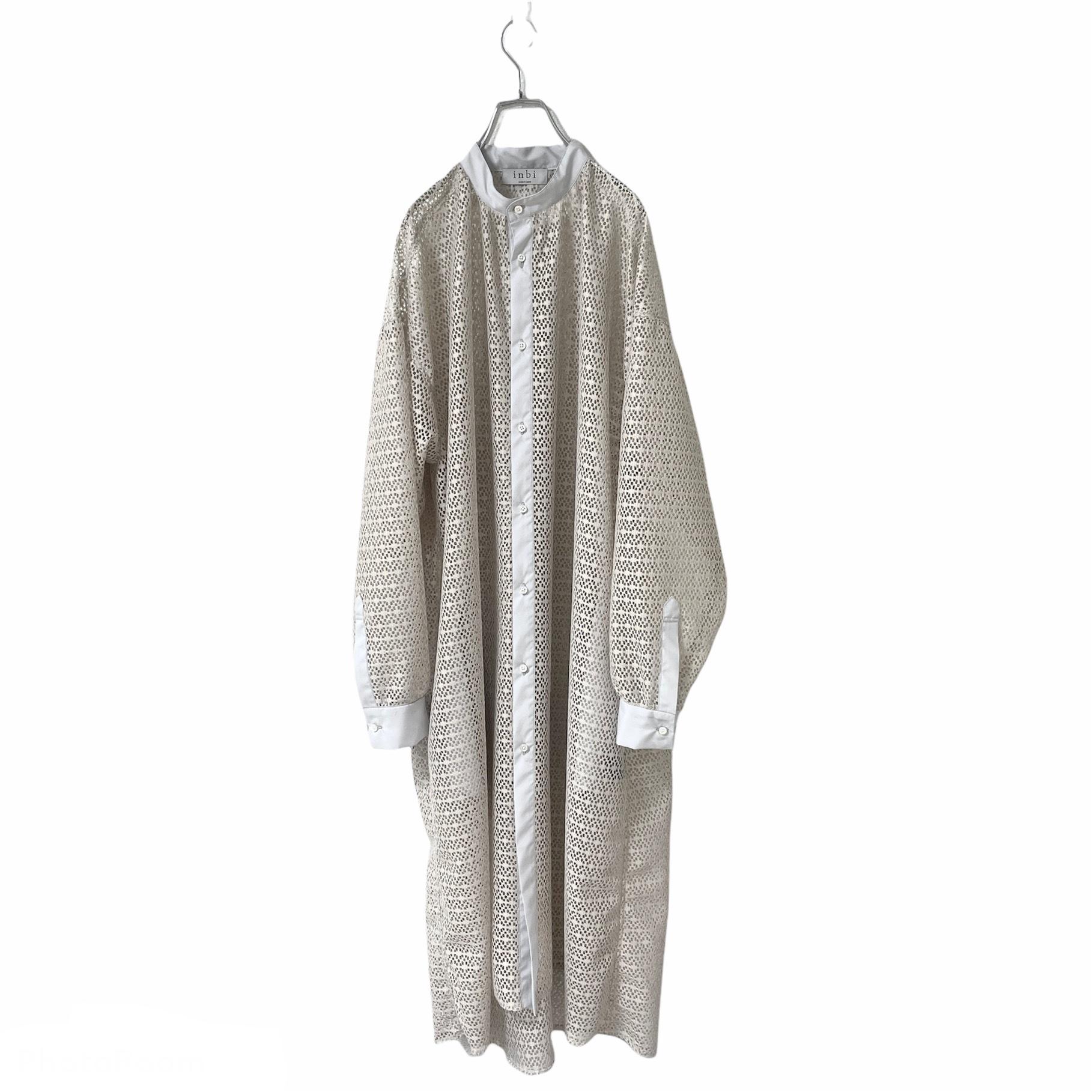 【オーダー受付】Lace-Longshirts (geometric grey)