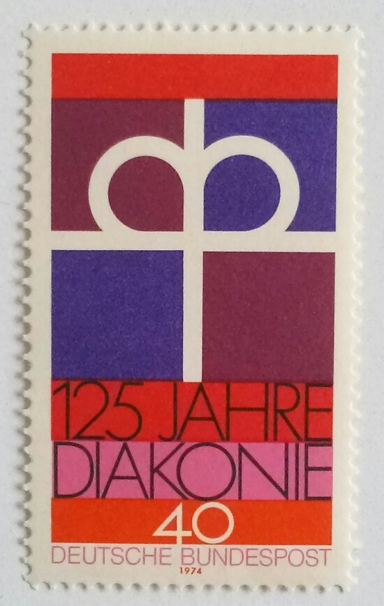 福音協会の社会事業125年 / ドイツ 1974