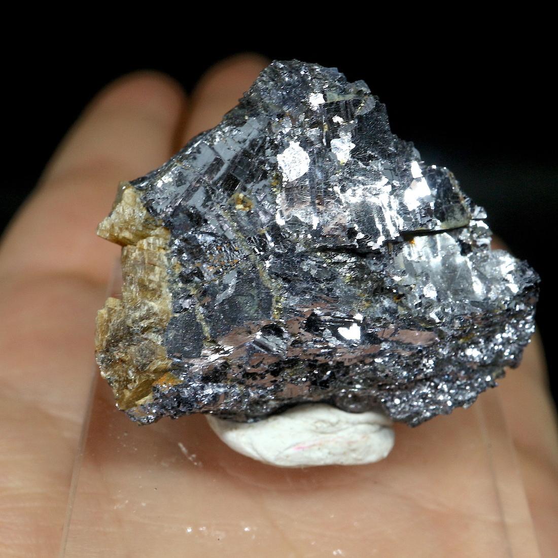 方鉛鉱 + 菱鉄鉱 ガリーナ+ シデライトカナダ産  原石 45,8g GAL001 天然石 鉱物 パワーストーン 標本