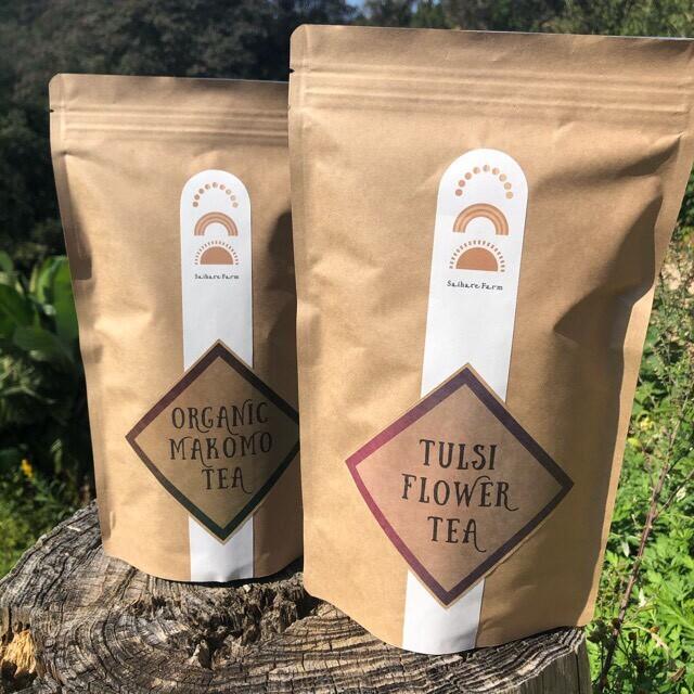 トゥルシー花茶 & マコモ茶セット