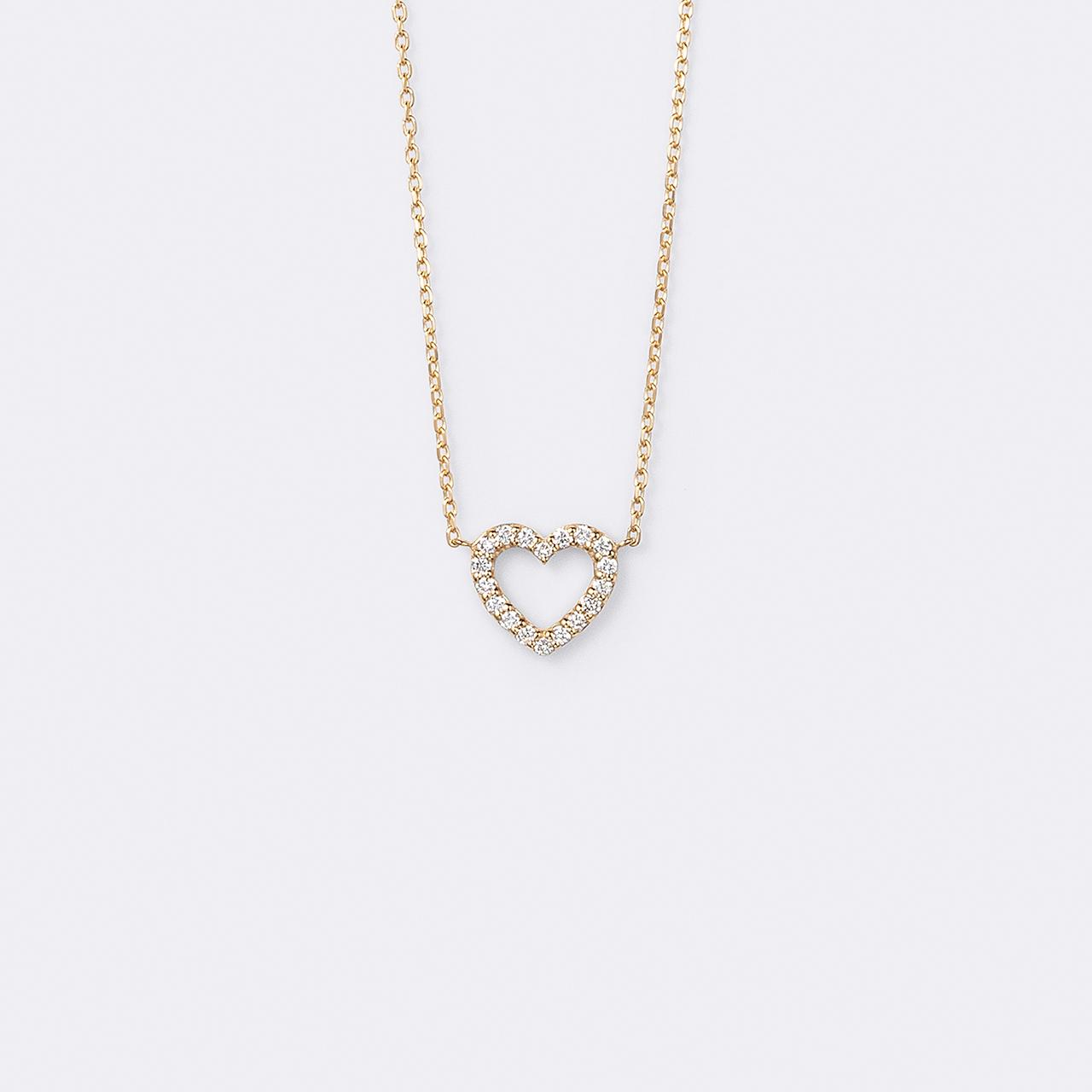 Le Coeur Necklace K18YG( ルクールネックレス K18イエローゴールド)