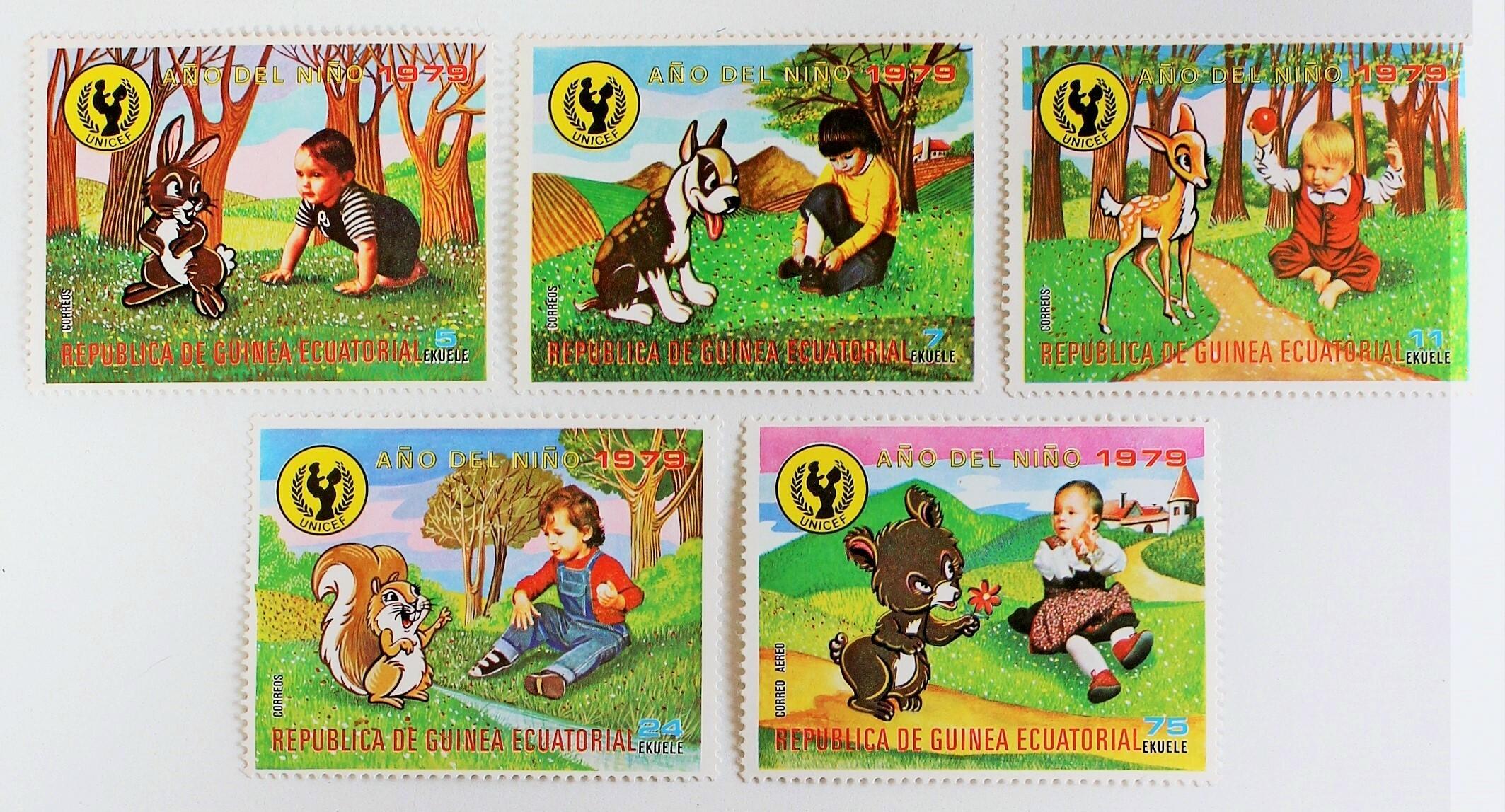 国際児童年 / 赤道ギニア 1979