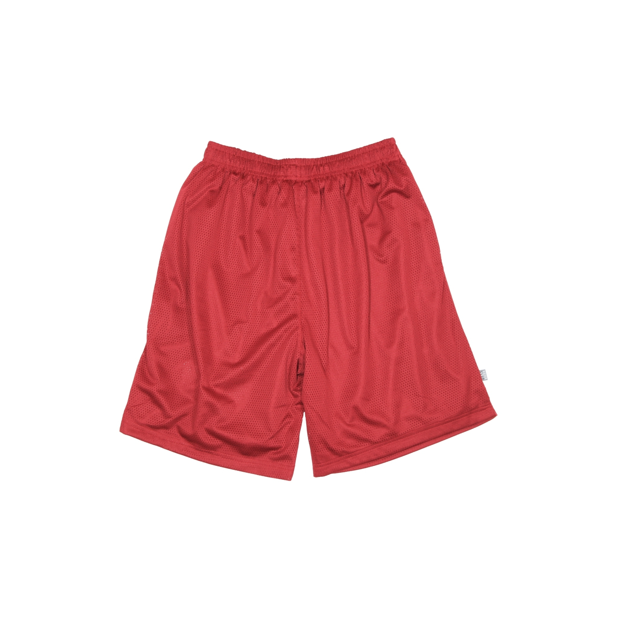 LOGO PRO CLUB MESH SHORTS [BURGUNDY]