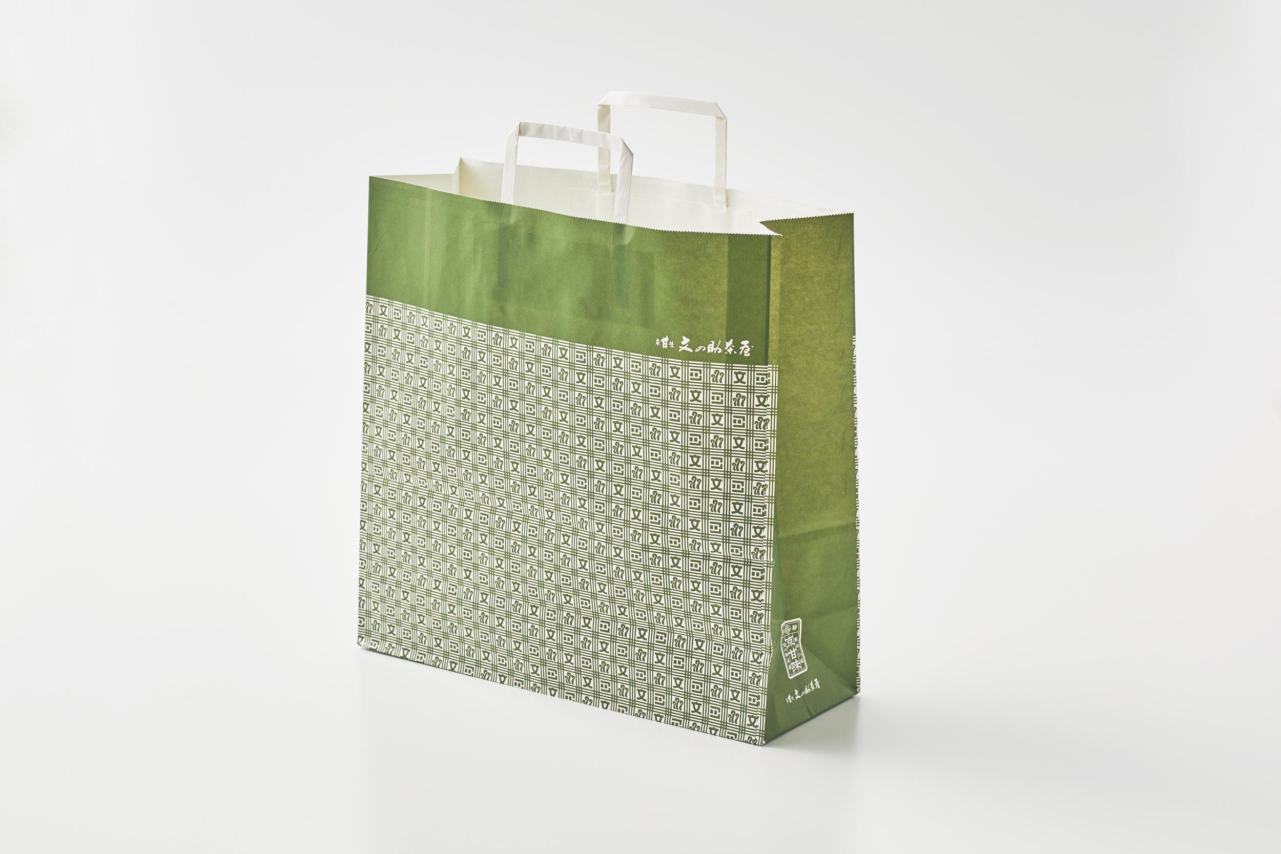 紙袋 大 緑(1枚)