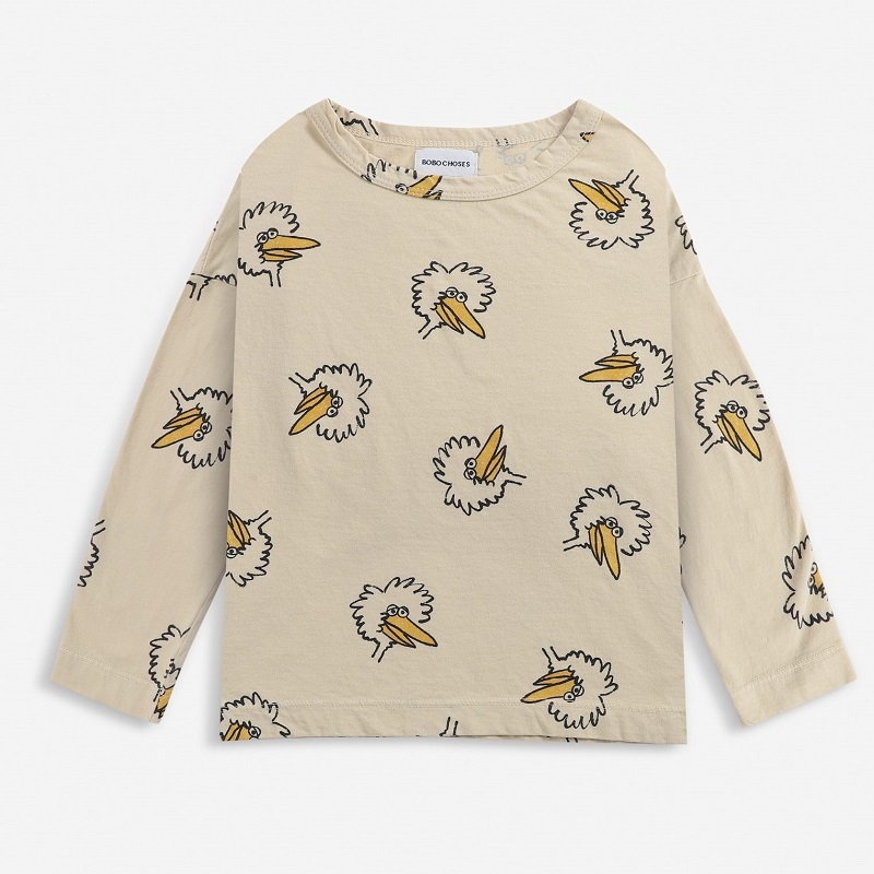 BOBOCHOSES Birdie All Over long sleeve T-shirt
