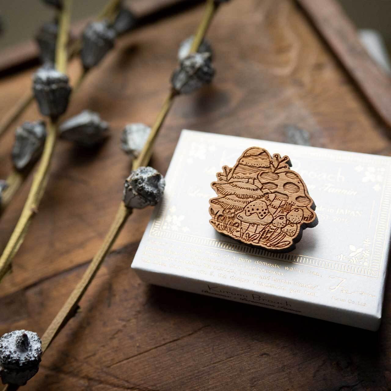 mushroom / きのこ(Brooch)