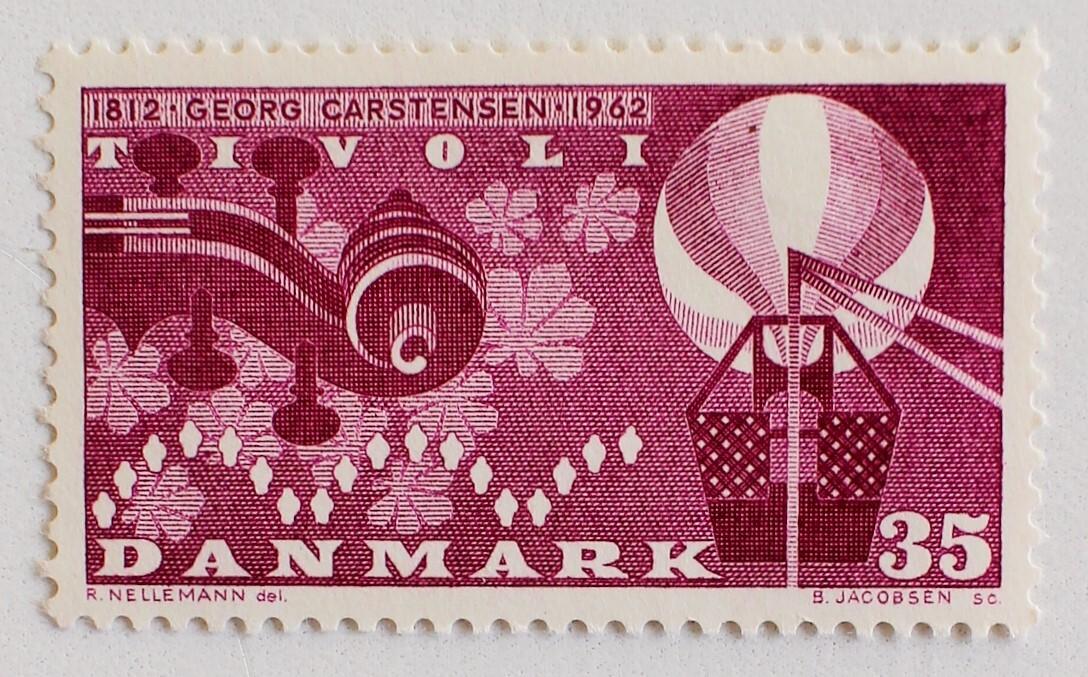 ゲオ・カーステンセン誕生150年 / デンマーク 1962