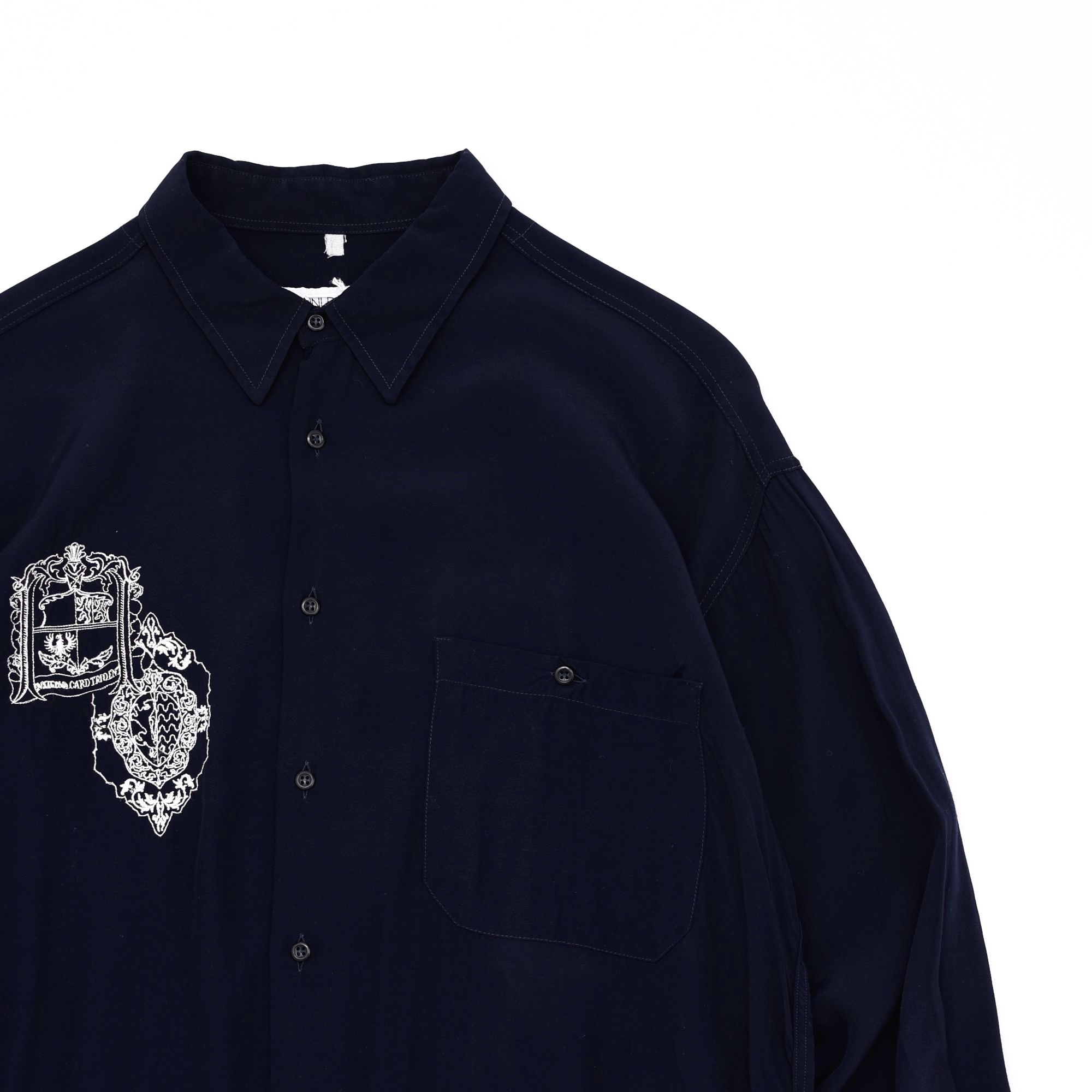 Made in Italy GIANNI BOLLINI rayon shirt