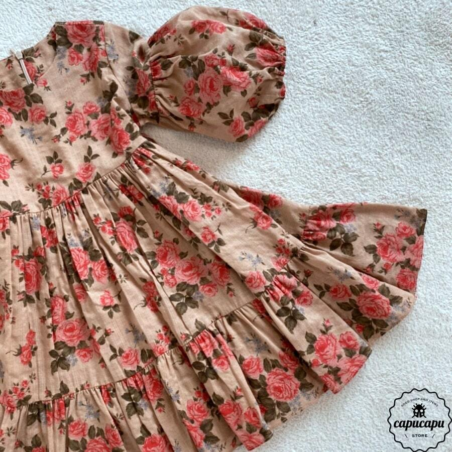 «sold out» One Day for The Celebration Dress rose brown  ローズブラウン ワンピース