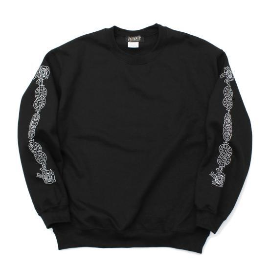 """THE CHRONIC"" CREW NECK SWEAT #WHITE"