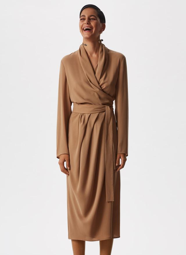 WRAP DRESS WITH BELT