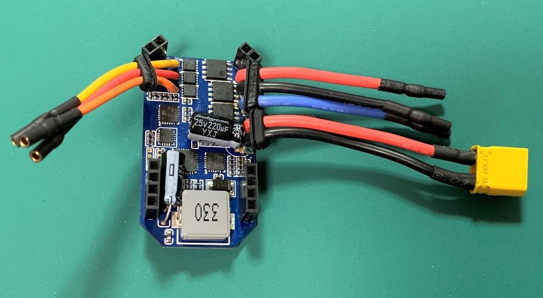 ◆OSHM2072旧型  M2ブラシレスアンプ(V2でも使用できます)(ネオヘリでM2購入者のみ購入可)