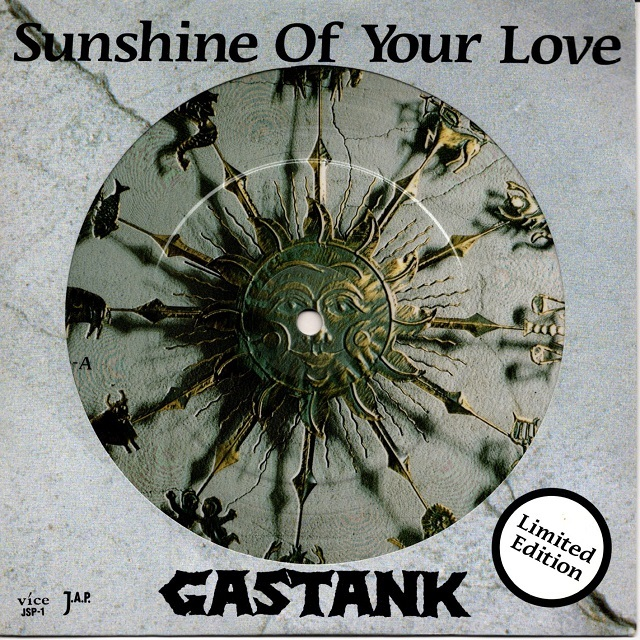 【7inch・国内盤】ガスタンク / Sunshine Of Your Love