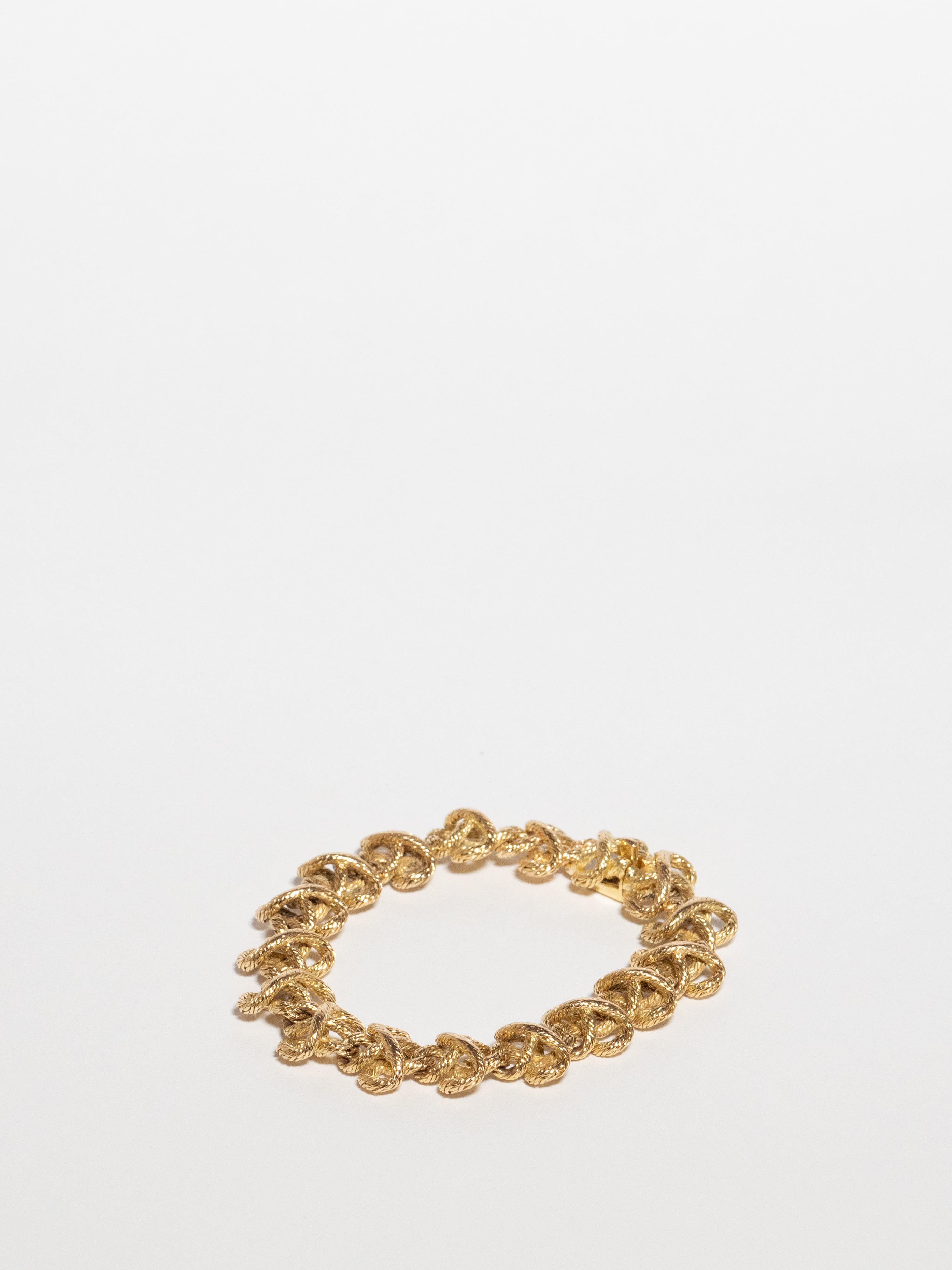 Rope Motif Bracelet / Hermès