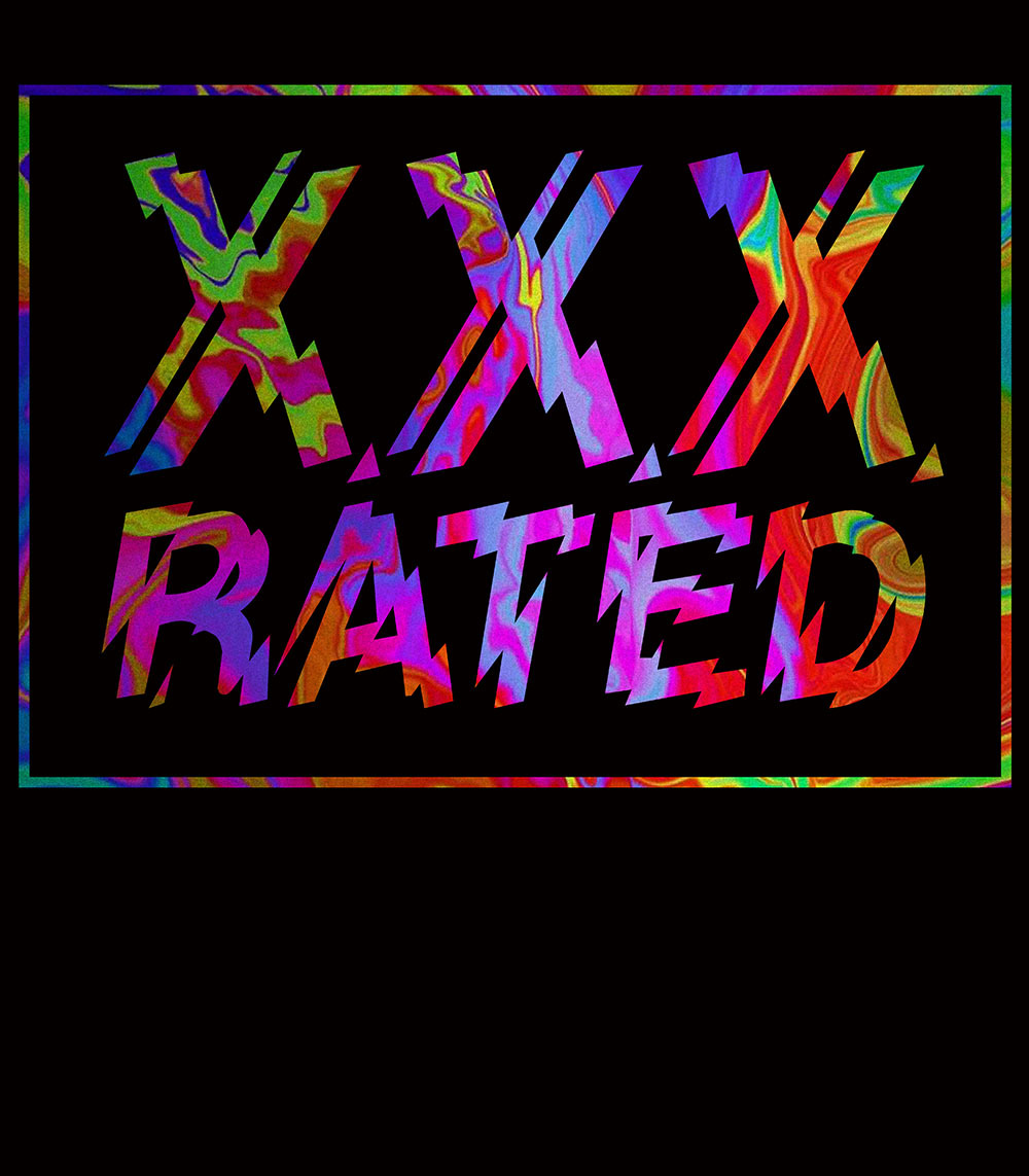 """XXX RATED """"NEVER BE BORED OR ALONE AGAIN"""" TEE"""