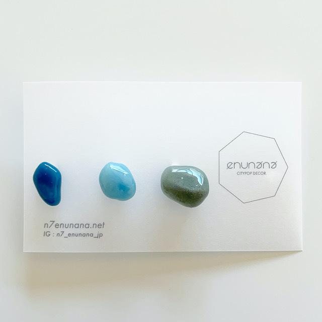 """N7enunana """"Plastic gem"""" ピアス"""