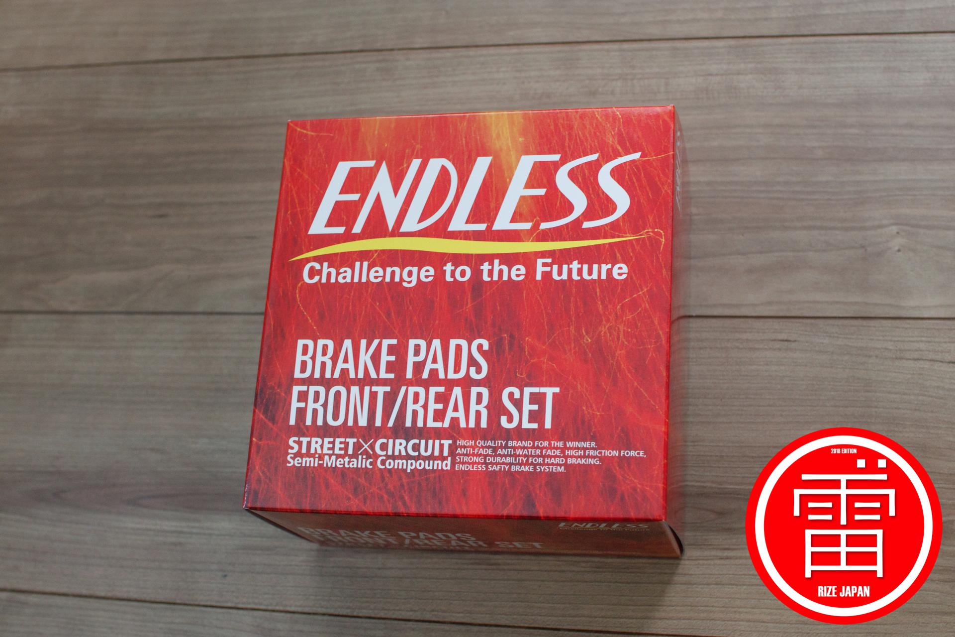 エンドレス MX72 Plus 前後ブレーキパッド / Endless MX72 Plus F/R set Brake Pad for FC3S