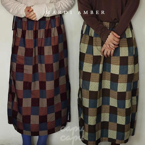 «先行予約割引»«Mardi Amber Ladies» Marcel Skirt マルセルスカート ママサイズ