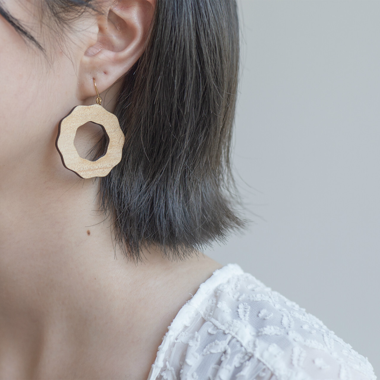 pierce donut / ドーナツピアス【片耳用】