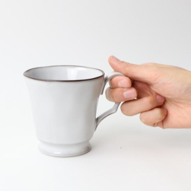 磁器 グレーマグカップ【SL-0055_MP】