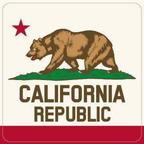 """003 カリフォルニア """"California Market Center"""" アメリカンステッカー スーツケース シール"""