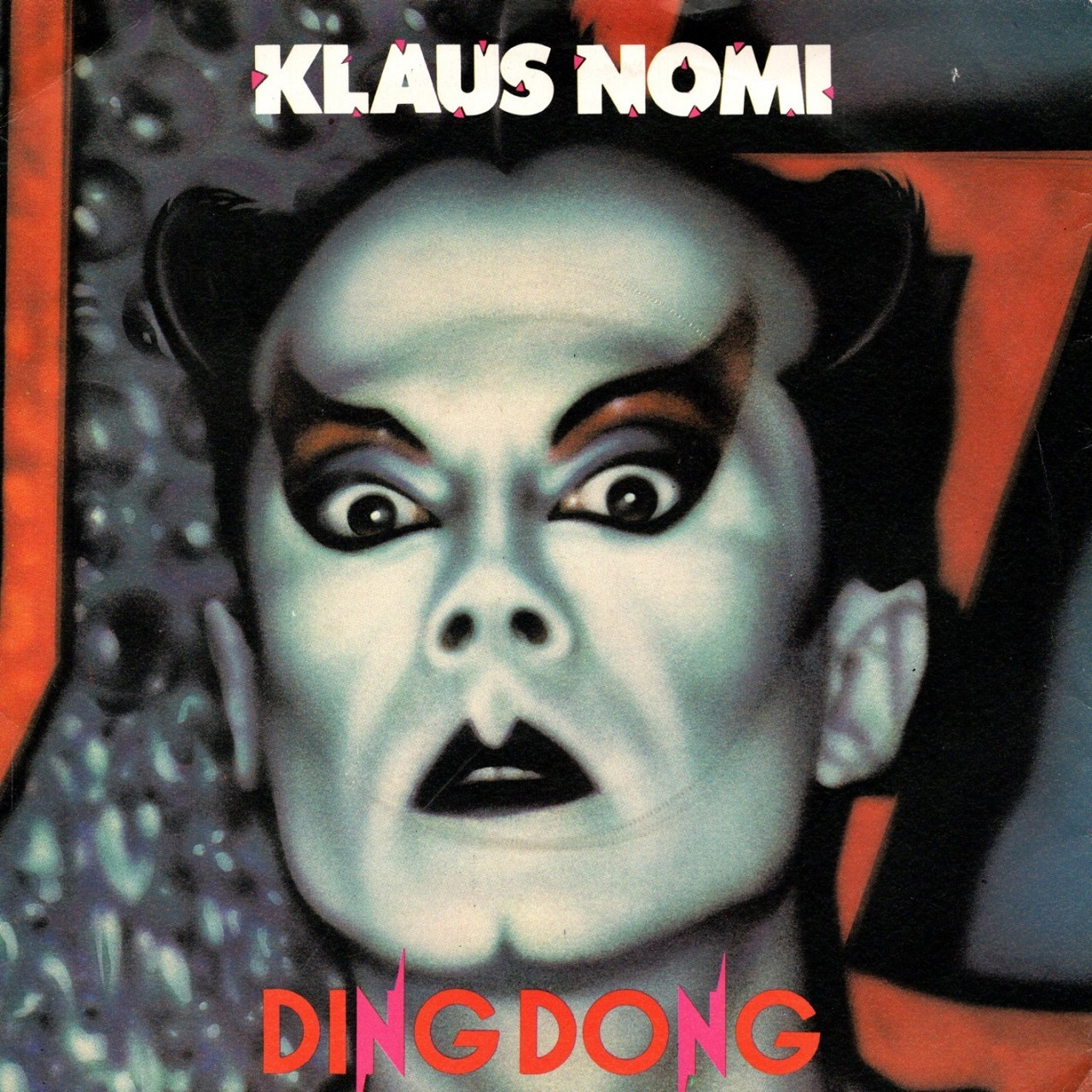 【7inch・英盤】Klaus Nomi / Ding Dong