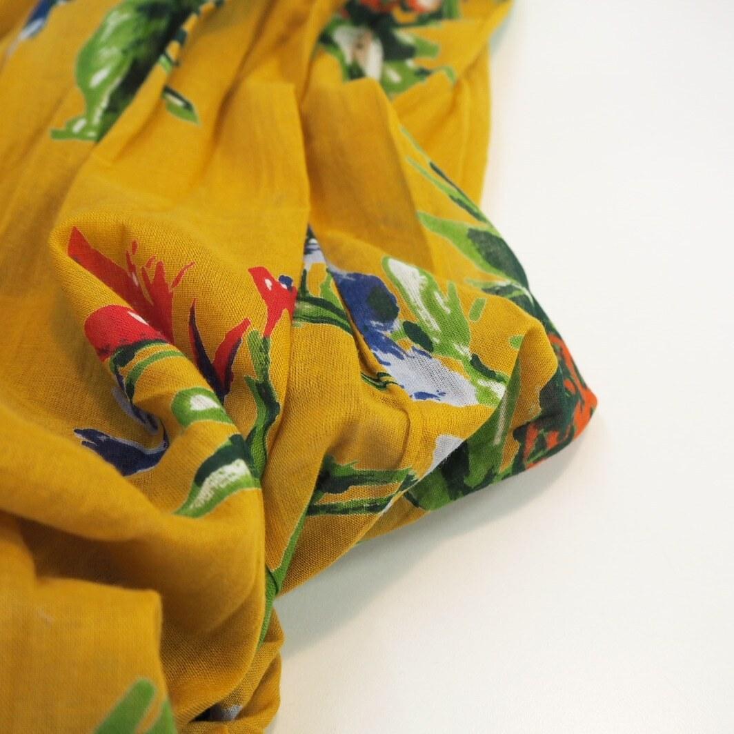 cotton gather skirt