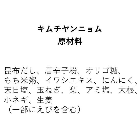 キムチヤンニョム(350g)