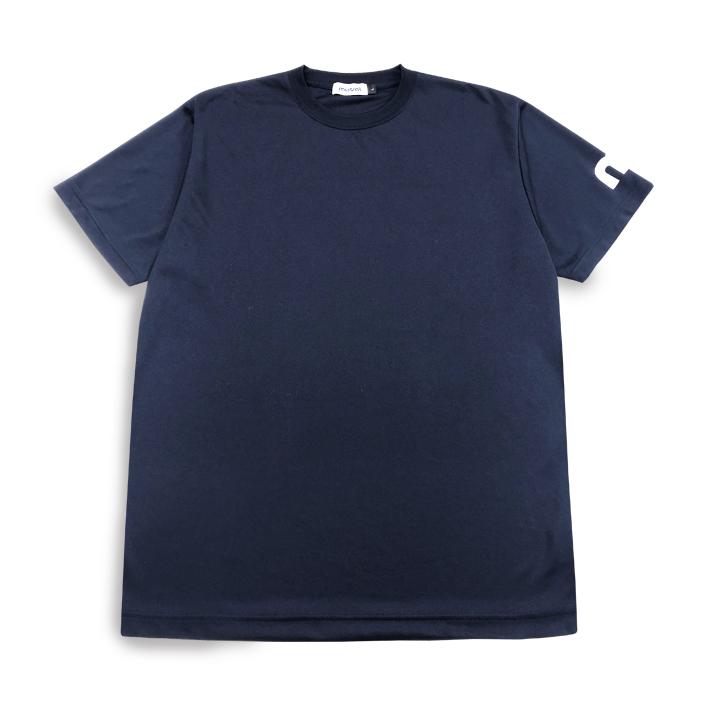 ミストラル ユニセックス【ミストラル ドライ半袖Tシャツ】NAVY