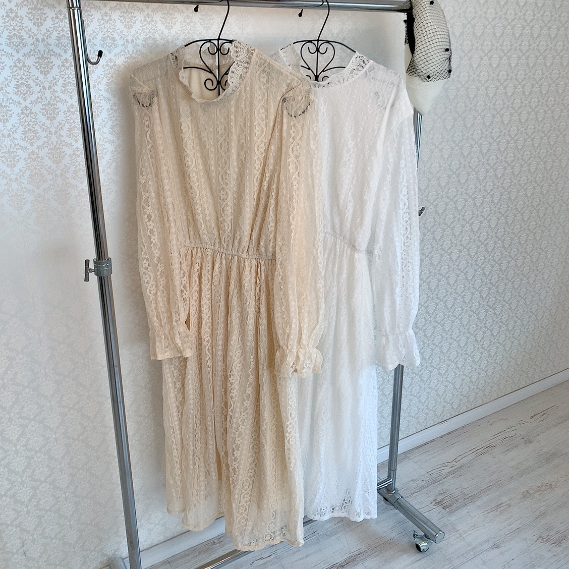 girly lace onepiece